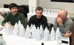 Alexandre Bal (Authentique), Richard Ballantyne MW (Noble Grape) and Clive Allen Stanton (Eton Vintners)