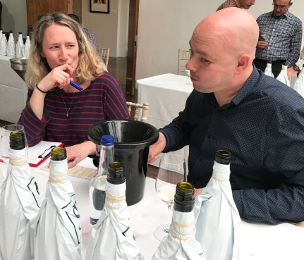 Jess Scarratt (Borough Wines, Beers & Books) and Marc Hough (Cork of the North)